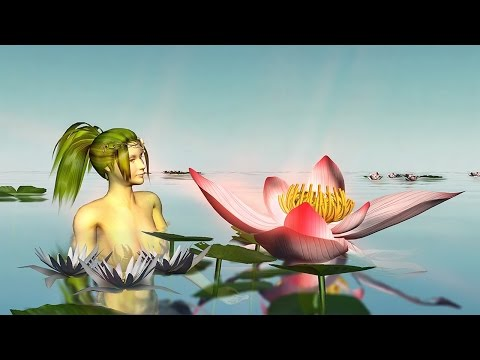🌷 Birthday greetings video animation with Mermaid