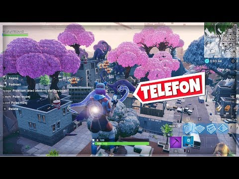 🔥 NOWE TILTED TOWERS 📲 TELEFON NA MAPIE GŁÓWNEJ! Fortnite Battle Royale