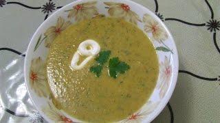 Суп- пюре овощной с грибами  Рецепт супа