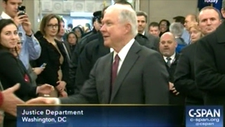 Jeff Sessions Get Warm Welcome At Department Of Justice Free HD Video