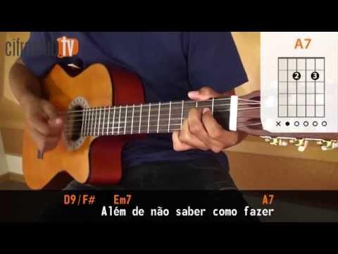 Pra Você Guardei o Amor - Nando Reis aula de violão completa