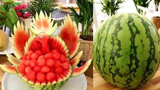 3 Super Fruits Watermelon Decoration Ideas