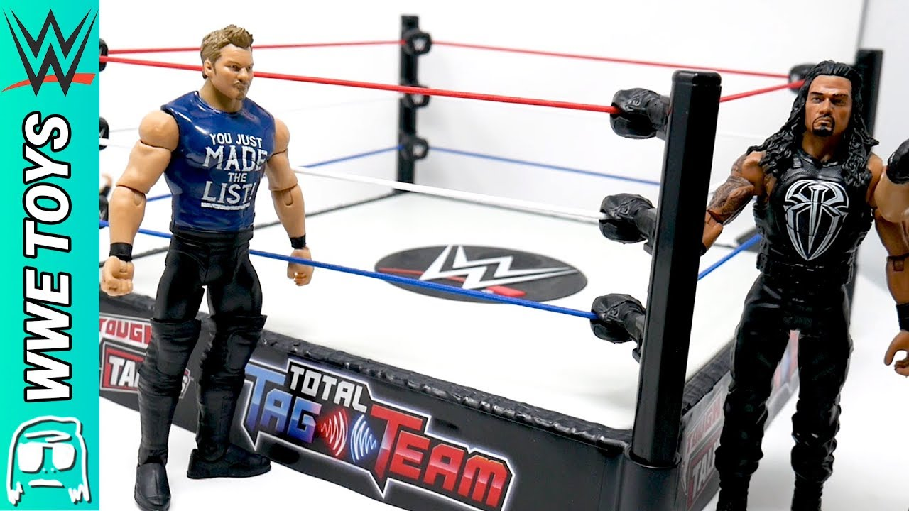 WWE TOUGH TALKERS TOTAL TAG TEAM A J STYLES.
