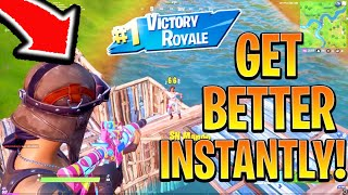 How To Get BETTER/SMARTER in Fortnite Fast! Fortnite Ps4/Xbox! (How To Win Fortnite Console Tips)
