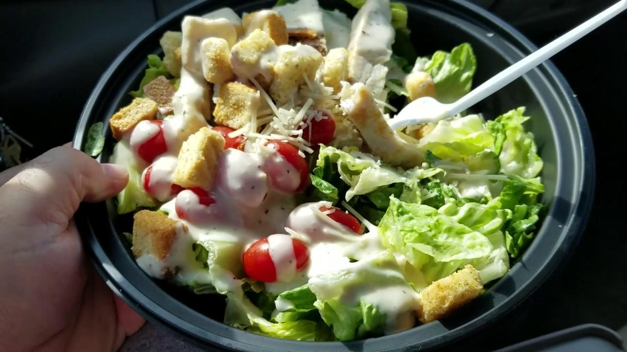 How to eat Caesar salad 84