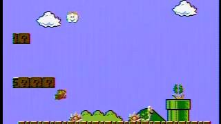 Super Mario Bros: Infinite 1-up Trick (No not that one, or the other one)