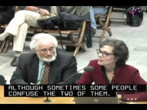 Dr. Davis and Stan Glantz at Berkeley City Council 2011 Cell Phone Right To Know Ordinance