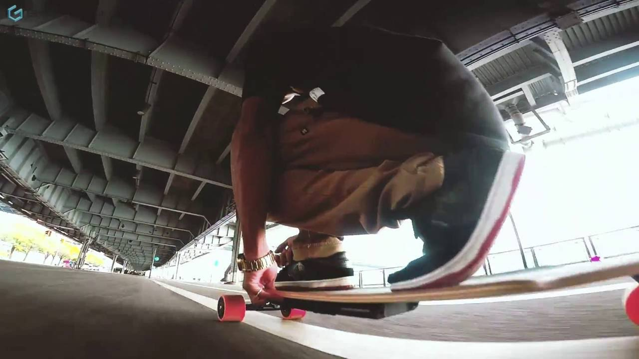 Awesome Electric Skateboard Ride  Ride Genesis  YouTube