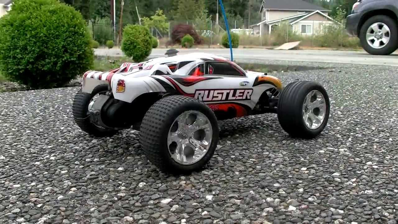 RC Cars HPI Mini Trophy And Traxxas Rustler