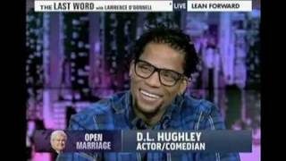 "OTM - DL Hughley ""Newt Gingrich isn't a candidate he's a RAPPER LOL"""