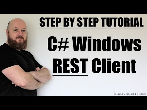 Step by Step Tutorial - C# REST Client