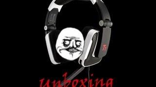 Unboxing Thermaltake Tt eSports Shock Gaming Headset - White