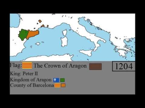Rise and fall of Aragon: Every year