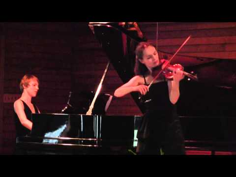 Kinga Augustyn plays Franz Vecsey Valse Triste- LIVE from The Sevenars Festival