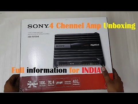 sony 4 channel amplifier xmn1004 review  electro wiring circuit
