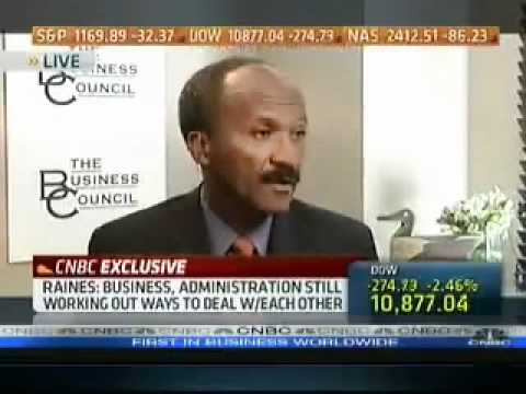 Franklin Raines (Former Head) Calls for Fannie Mae and Freddie Mac Reform.flv