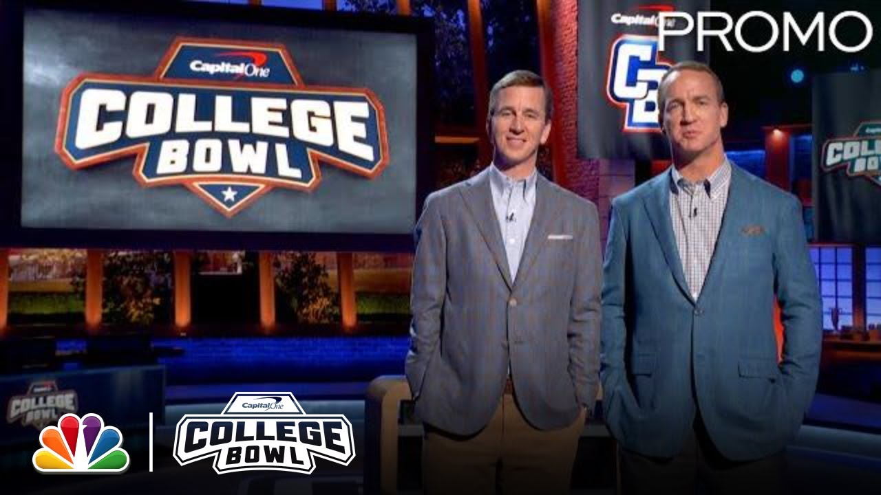 Peyton Manning Hosts the Ultimate Academic Challenge - Capital One College Bowl