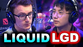LIQUID vs LGD - SEMI FINAL AMAZING INCREDIBLE!!! - TI9 THE INTERNATIONAL 2019 DOTA 2