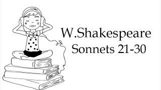 Сонеты Шекспира на английском языке 21 30