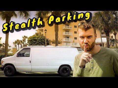 STEALTH VanLife Parking | Free Parking | Top 13 Stealth Van Life Tips