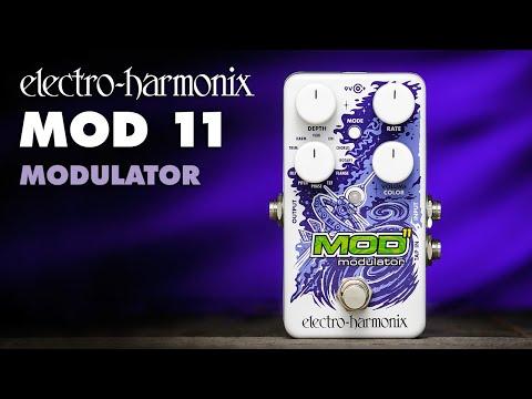 Electro-Harmonix launches the Mod 11 multi-modulation pedal | MusicRadar