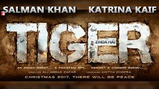 First Look : Salman Khan Katrina Kaif In Tiger Zinda Hai | Christmas 2017
