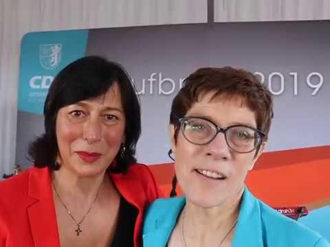 Annegret Karrenbauer unterstützt Marion Walsmann