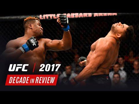 Revisando la Década: UFC 2017