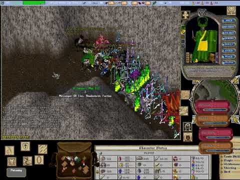 Ultima Online Pvp at cove (2017 01 08)