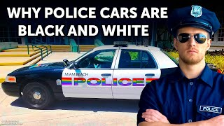 Why Police Cars Are Often Black and White