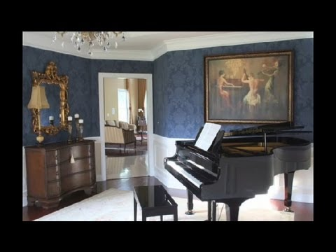 Grand piano room ideas home decor tips youtube - Piano for small space decoration ...
