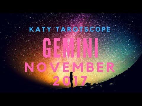 GEMINI OMG YES! YOU CAN GET THROUGH THIS! November 2017 Tarot Reading | Katy Tarot