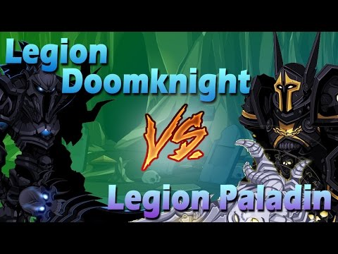 =AQW= LEGION DOOMKNIGHT vs LEGION PALADIN - Soloing (Class Comparison)