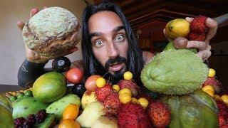 Probando frutas MEXICANAS exóticas | Por primera vez