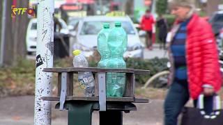 TBR installiert Pfandringe an öffentlichen Mülleimern in Reutlingen