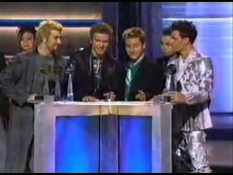 *NSYNC award acceptance - Billboard Music Awards 2000