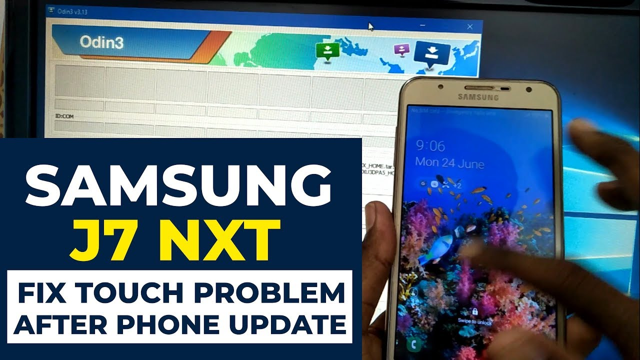 Samsung J7 Nxt After update Pie 9 0 Touch not Working Solution