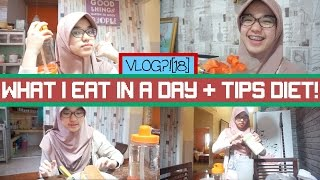 Download Video VLOG?! [18]: What I Eat In A Day + Tips Diet!⏰ || Nada Syifaa MP3 3GP MP4