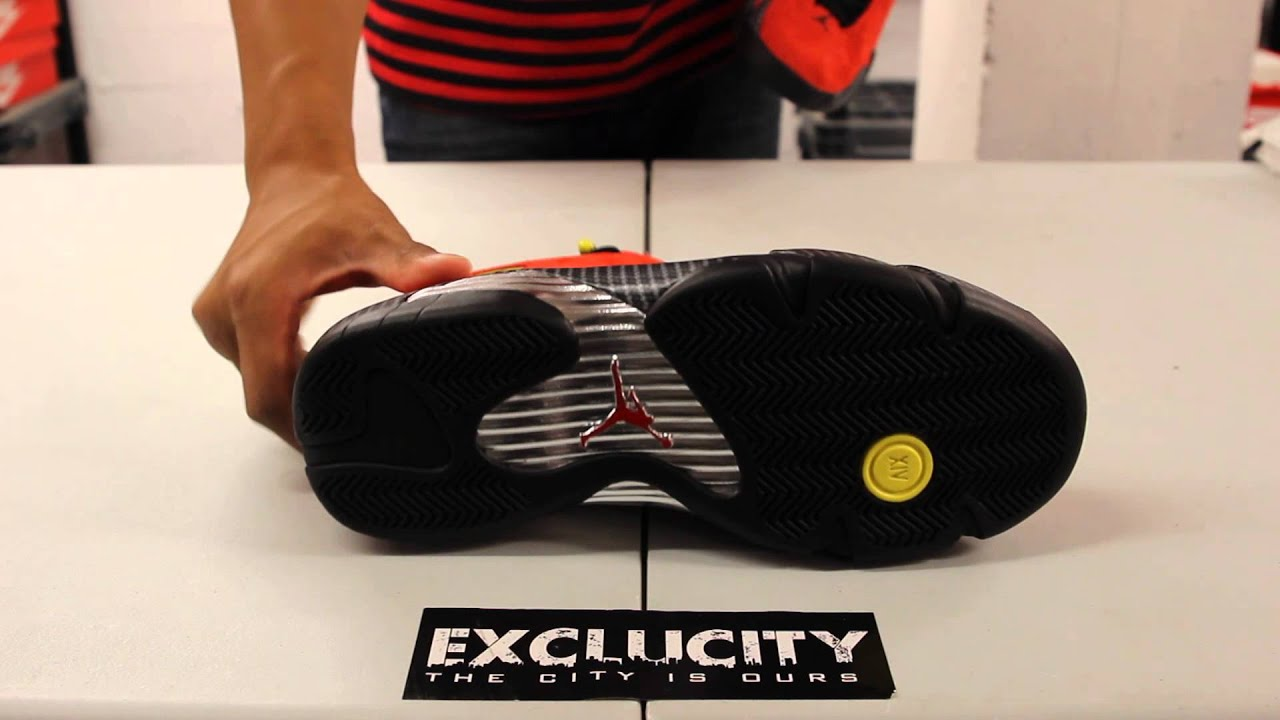 "9a525f96d08c Air Jordan 14 Retro ""Ferrari"" Unboxing Video at Exclucity - YouTube"