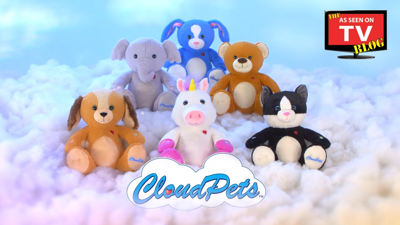 Cloud Pets As Seen On Tv Commercial Youtube