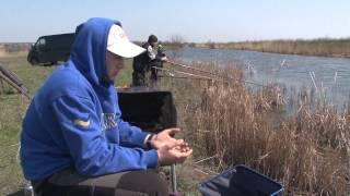 Ловля карася фидером весной. Мастер-класс 284HD. A feeder season Opening: Prussian Carp fishing.