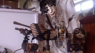 assemblage make do dolls mizzy zdroj artist folk art primitive found object art