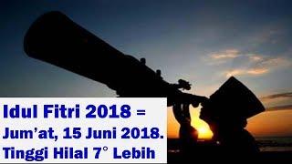 Idul Fitri 2018, Menanti Sidang Isbat Penentuan 1 Syawal 1439 H   1 Syawal 2018