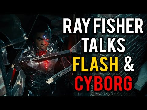 Ray Fisher Talks Flash & Cyborg