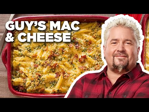 Mac Daddy Bacon Mac and Cheese with Guy Fieri | Food Network