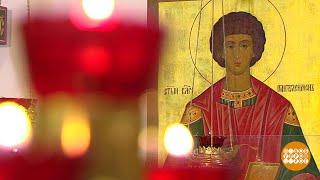 Святой великомученик и целитель Пантелеймон.