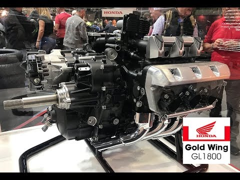 2020 HONDA GOLDWING - The ENGINE CloseUp ホンダゴールドウィング 4K HD - YouTubeYouTube