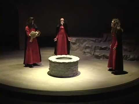 Seattle Academy Theatre Program 2007: Macbeth Act 2