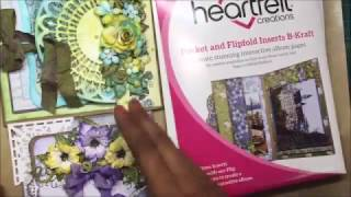 Multifold Cards with Heartfelt creations Flipfold Inserts