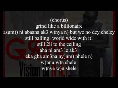 Vision Dj - Grind Ft A.I. (Prod. by Kuvie) Lyrics